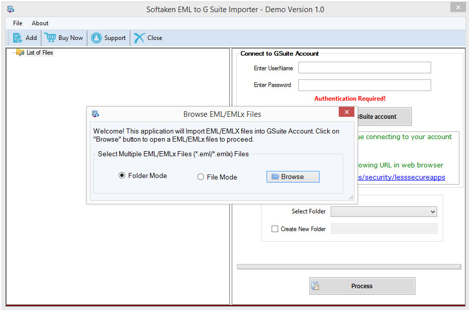 EML to G Suite Conversion Tool – Safely Move Unlimited