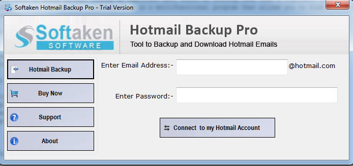 Hotmail Backup Software – Protect Transfer Hotmail File into PST