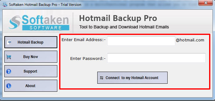 Hotmail Backup Software – Protect Transfer Hotmail File into