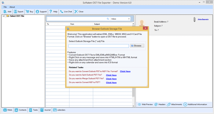 OST to PST Conversion - Convert MB GB OST to PST Quickly