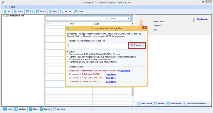 PST to MBOX Conversion Free – Migrate Outlook PST to MBOX File